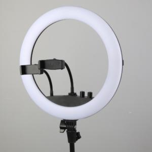 Диодная лампа кольцевая 36 см