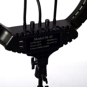 Кольцевая лампа вид сзади М-45