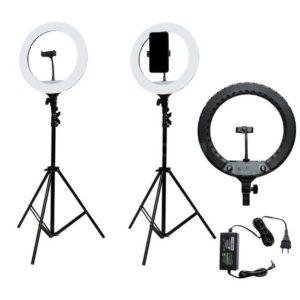 Кольцевая светодиодная лампа для студий 46 см YQ-480