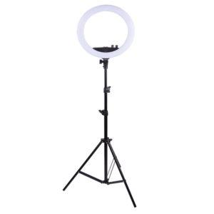 Кольцевая светодиодная лампа 36 см RL-14 сэлфи