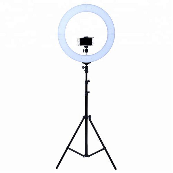 Кольцевая светодиодная лампа 48 см с фильтром