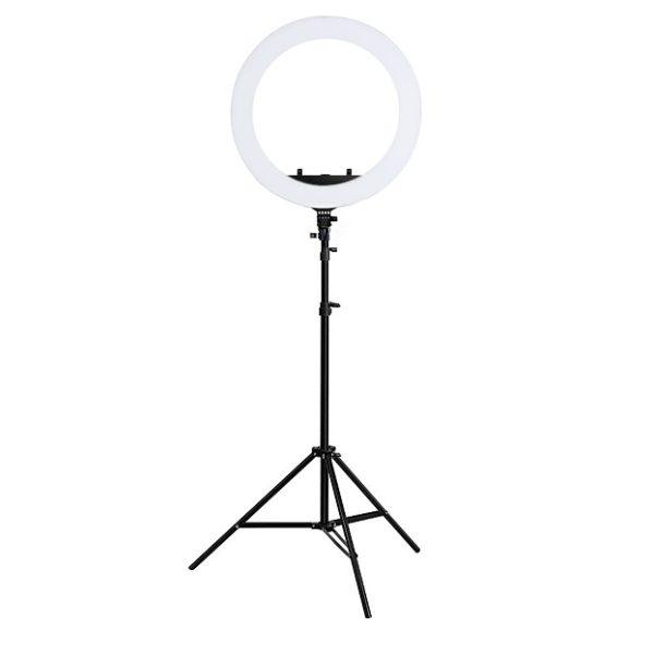 Профессиональная кольцевая лампа 43 см