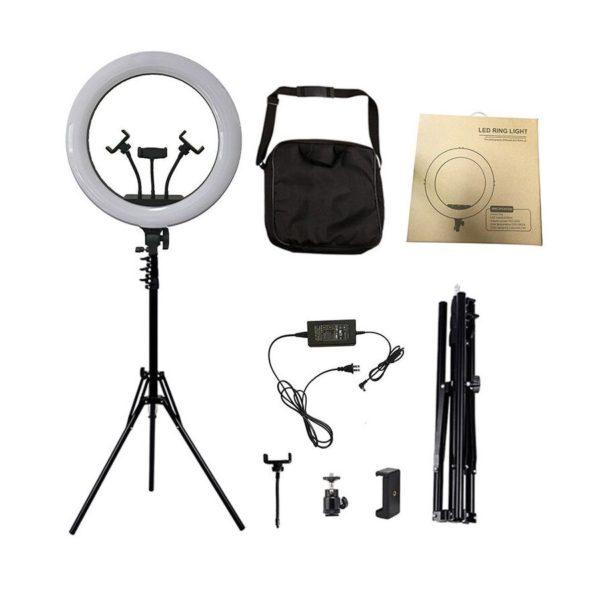 Кольцевая лампа 45 см (70 ватт) с сумкой и штативом