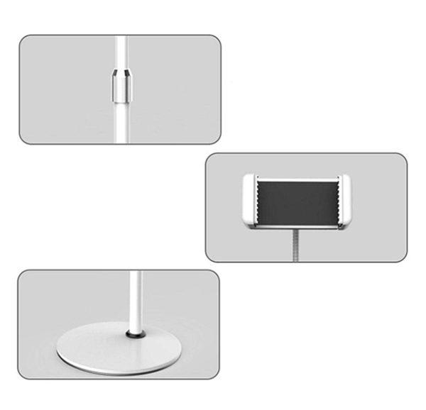 Комплектация кольцевой настольной лампы 10 Ватт