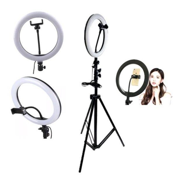 Лампа световое кольцо с пультом 36 см и 36 ватт