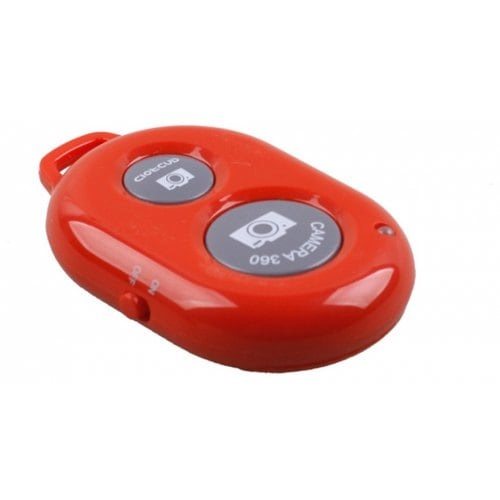 Bluetooth пульт для управления камеры Androin и iPhone красный