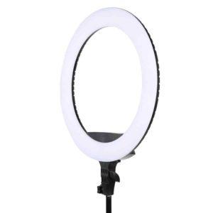 Кольцевая лампа 45 см KY-BK416 вид сбоку