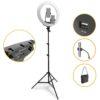 KY-BK416 кольцевая лампа 45 см 65 ватт профессиональная