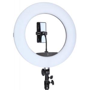 Кольцевая лампа 51 см, 65 Ватт с аккумуляторами