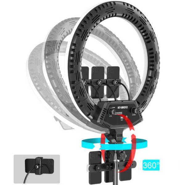 Кольцевая лампа 56 см KY-BK512_0000_Прямоугольник 4