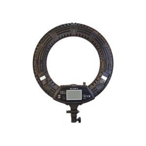 Кольцевая лампа SY-3161 III на штативе вид сзади