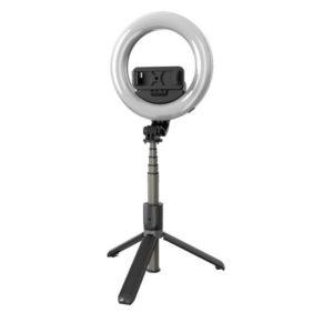 L07 кольцевая лампа 16 см на сэлфи палке