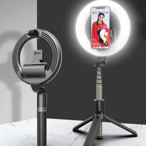 Сэлфи Палка с кольцевой лампой L07 настольная