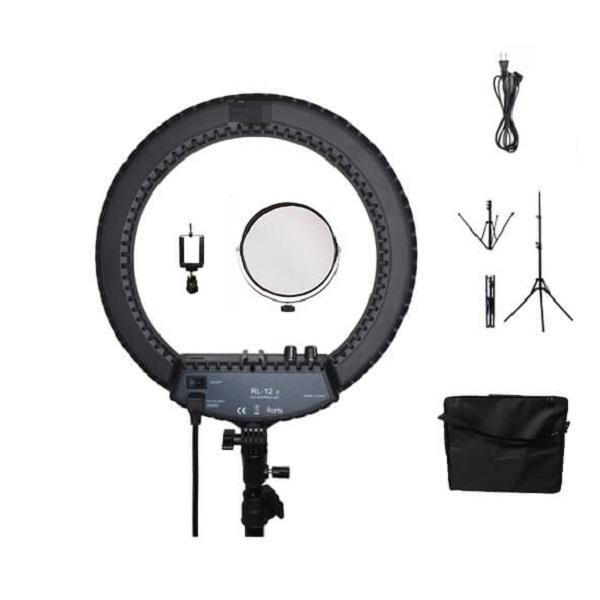 Кольцевая светодиодная лампа с зеркалом 34,5 см RL-12 II покаления