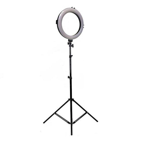 Лампа кольцевого света 20 см диаметром купить настольная и напольная