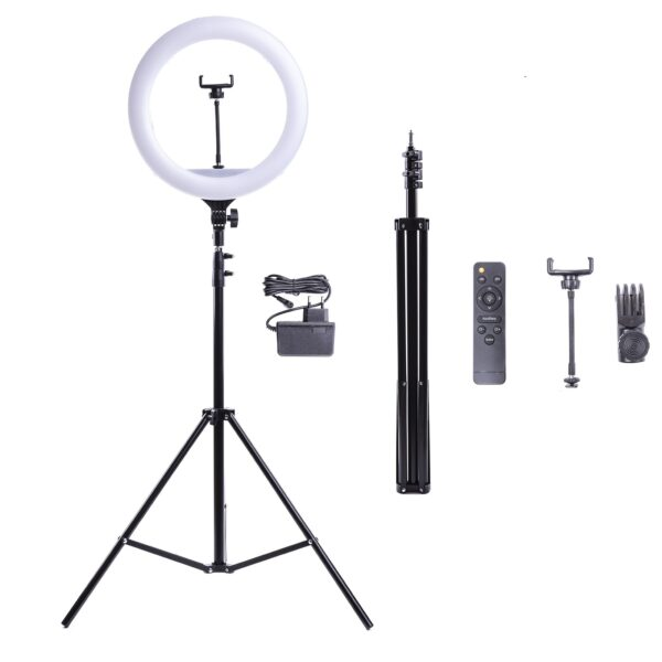 Кольцевая лампа YQ-360B 36 см 30 Ватт мощная