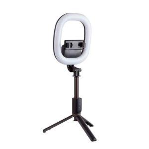 Кольцевая-лампа-R10-настольный-вариант-установки