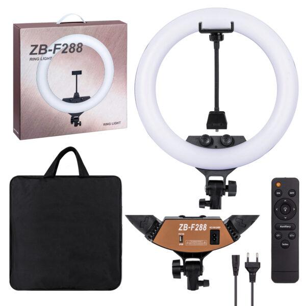 ZBR ZB-F288 Кольцевая лампа с пультом и сумкой